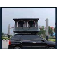 China Polycotton Half Automatic Z Shaped Camper Van 4x4 Roof Top Tent