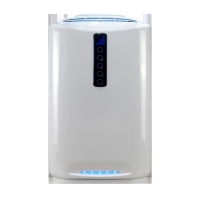 China Household UV Air Purifier With Plasma Photocatalyst HEPA And Active Carbon
