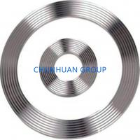 China Groove PTFE Coated 316L DN15 Corrugated Metal Ring