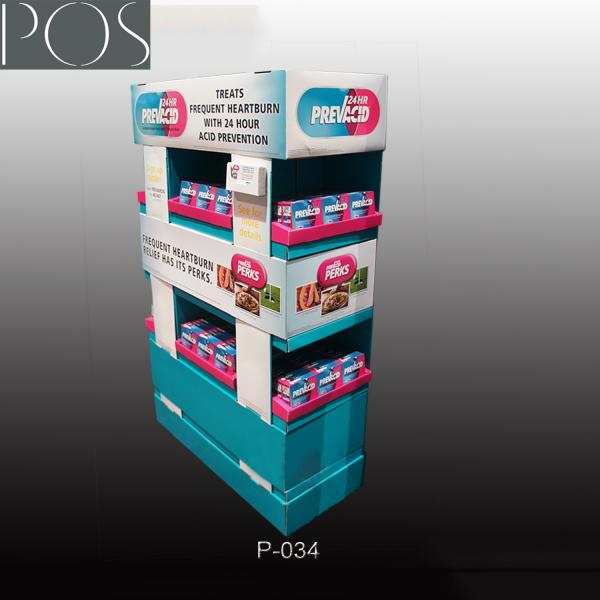 China High Quality POP Displays Corrugated Cardboard Pallet Display For Commodity