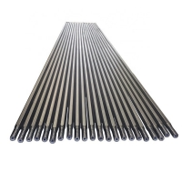 Quality 3660mm T45 Threaded Drill Rod MM Extension Rock Drill Shank Rod Drilling for sale