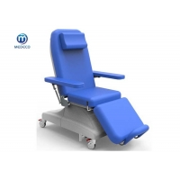 China Electric Thearpy Equipment Hemodialysis Chair Dialysis Donation Chair