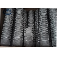 China Dome Crystal Smoke Tobacco Sintered Filter Disc Pipe Steel Blanks 12mm