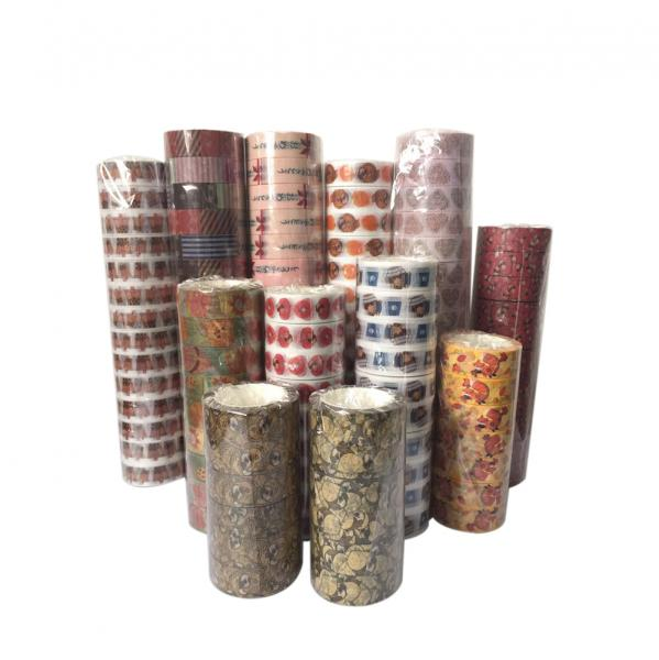 washi tape poly plastic package