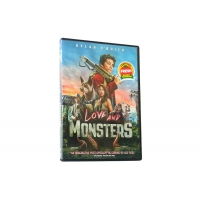 China Love and Monsters DVD New DVD Movie Released For 2021 Action Adventure Horrow