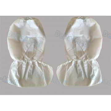 China SF Non Woven Disposable Surgical Shoe Covers , Anti Water Disposable Boot Covers