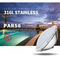 China 25W Synchronous control PAR56 IP68 UL Certificated led swimming pool light