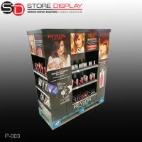 China custom four sides cosmetic pallet display