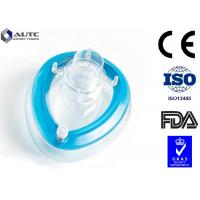 China Antiviral Disposable Medical Mask , Medical Face Shields Oxygen Breathing