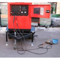 Quality Miller 500Amp Arc Welding Machine Genset Diesel Generator with cart , 30m for sale