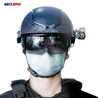 China Rapid Emergency Response Smart Infrared Helmet Quick Temperature Check