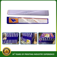 Quality Printing Materials Die Cutting Plastic Creasing Matrix for 100g paper for sale