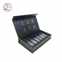 China Four Color Printing Cardboard Made Coated Paper Packaging And Gold Foil