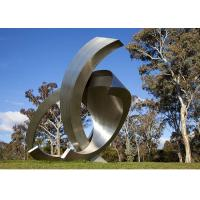 China Garden Large Modern Abstract Stainless Steel Decorative Sculpture