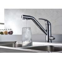 China Commercial Kitchen Faucets Single Handle High Precision Ceramic Valve