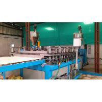 China Professional Double Conical Screw WPC Foam Board Machine / Extruder