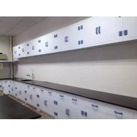 China Top Quality CE Certificated PP Lab Furniture Polypropylene Wall Bench 10 Feet