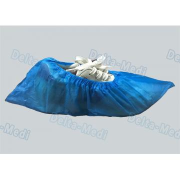 China PE 2g 2.5g 3.5g 15x40cm Disposable Foot Covers In Food Factory And Laboratory
