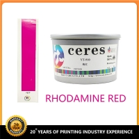 Quality Ceres YT-909 Rhodamine Red Soya Offset Printing Ink -pantone color for sale