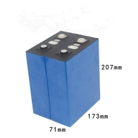 Quality 272Ah 3.2V Iron Phosphate Battery For Solar Street Lights for sale