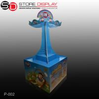 China custom attractive market pallet display stand for kid toys