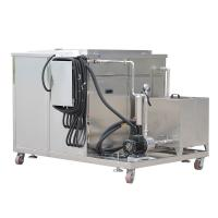China Industrial Engine Parts Ultrasonic Cleaning Device 360L 3600w With Filter System