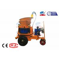 China Air Motor Dry Mix Concrete Shotcrete Machine Pneumatic For Hydroelectric Works