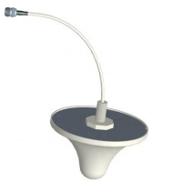 China 800-2500Mhz 3 dBi gain omnidirectional WiFi 3G 4G LTE ceiling antenna