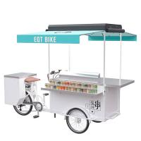 China Electric / Pedal Trike Food Cart With High Temperature And Corrosion Resistance