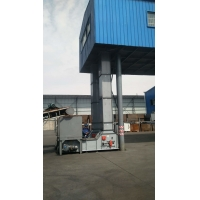 China Z-type bucket elevator for acid and alkali resistant materials can reach 150