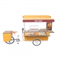 China 1100mm Mobile Coffee Cart