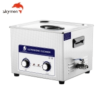 China Skymen JP-060 15L Mechanical Ultrasonic Cleaner Transducer with Heating for