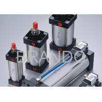 Quality Pneumatic Cylinder Valve , Pneumatic Air Cylinder Assembled ISO6431 ISO15552 for sale