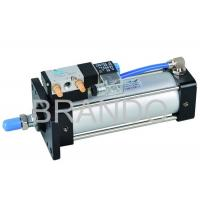 Quality 4V Series Aluminum Air Cylinder Valve Double Acting , Cylinder Solenoid Valve for sale