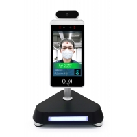 Quality 160000 Records 0.8S 1920x1080 AI Face Recognition Device for sale