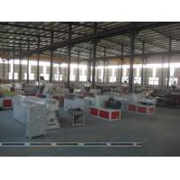 China Recycled PVC WPC Foam Board Machine , Conical Twin Screw Extruder