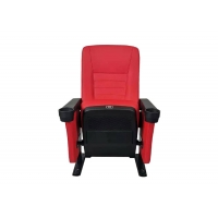 China 550MM Center Distance Commercial Theater Seating For Public Cinema