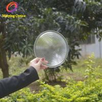 China High Quality Pressed Optical Borosilicate Glass Overhead Projector Fresnel Lens