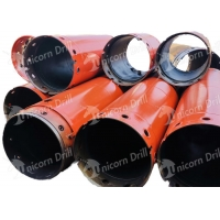 China Unicorn Drill foundation drilling tools double wall&single wall casing pipe for