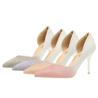 China ZM003 Autumn And Winter New Pointed Temperament European And American High Heels