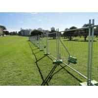China Portable 8ft Length Temporary Steel Fencing For Construction Sites