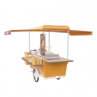 China Street Tricycle Electric Vending Burger Food Cart