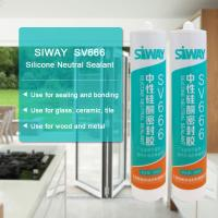China SV-666 Neutral Cured Construction Adhesive Sealant For Window And Door 300ml