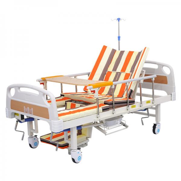 China Good quality home nursing bed with toilet hole, medical bed for patient