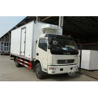 China Insulation Refrigerated Box Truck 4t Dongfeng 80mm Interbed Thickness