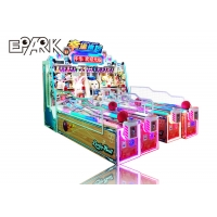 China Multiplayer Luxury Big Booth Amusement Game Machines Coin Operated