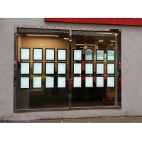 Quality Where homes and owners connect A3 double sided Window Hanging Crystal LGP for sale