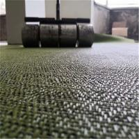 China 2.0 - 5.0mm Thick Woven Vinyl Flooring For Dining Room Anti - Friction