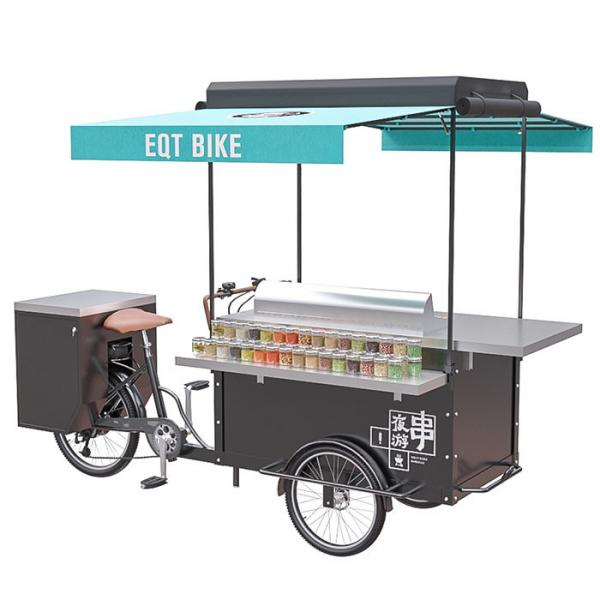 China Customization accepted BBQ cart barbecue grill outdoor food bike