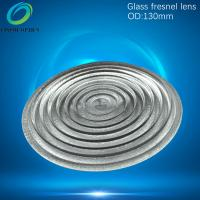 China 130mm glass fresnel lens for LED,Projector,imager